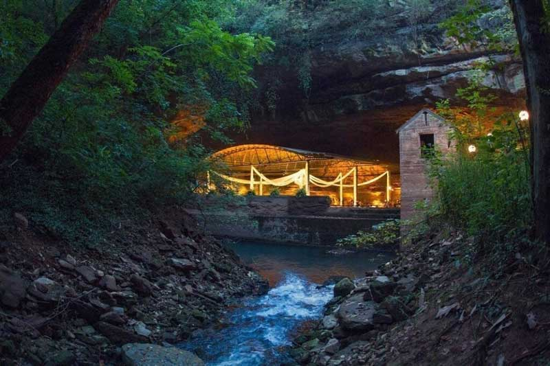 Lost River Cave Wedding Venue